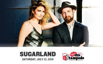 Calgary Stampede's Virgin Mobile Stampede Concert Series Presents Sugarland's only performance in Western Canada