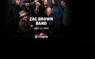 Calgary Stampede to host Zac Brown Band's only Alberta performance